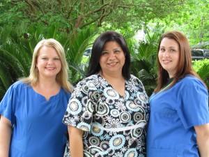 Billing Office: Michele, Marlene, and Lindsay